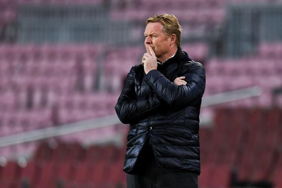 El entrenador del Barça, Ronald Koeman
