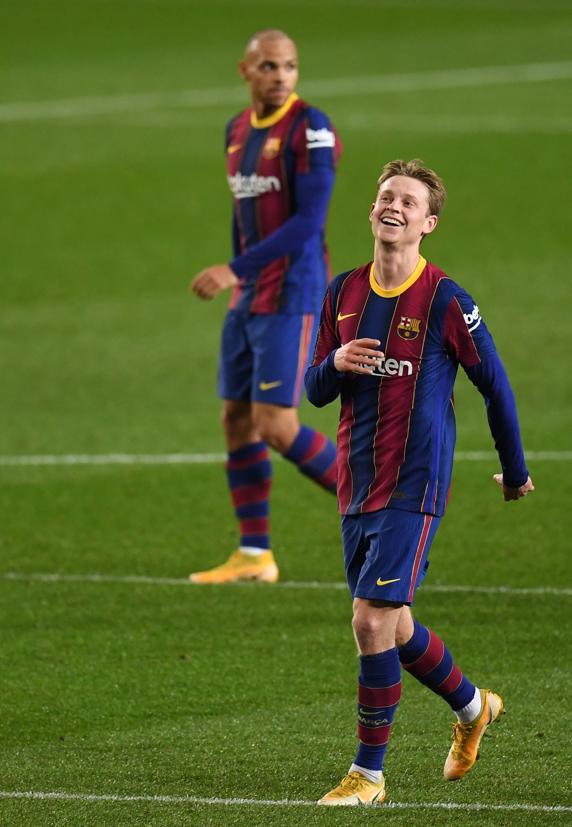 Frenkie de Jong, jugador del Barça