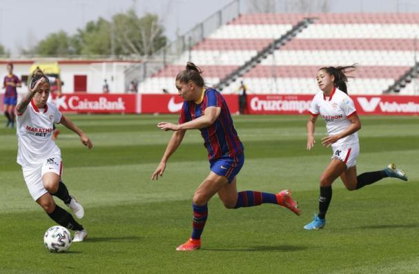 Sevilla - FC Barcelona femenino, en imágenes