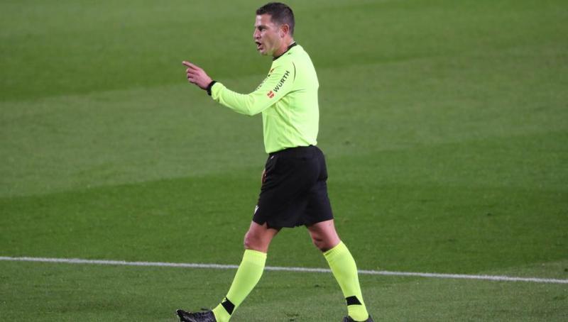El andaluz Figueroa Vázquez arbitrará el Barça-Getafe