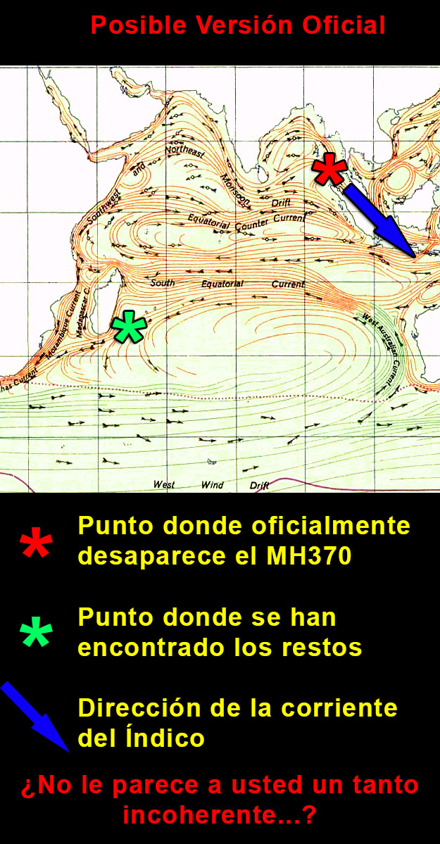 version oficial mh370