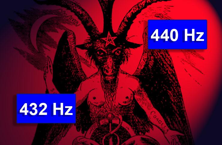 Resultado de imagen para conspiracion 440 hz