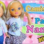 DIY Camiseta estampada para muñecas Nancy
