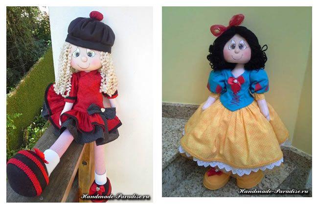 Patrón para varias muñecas de tela