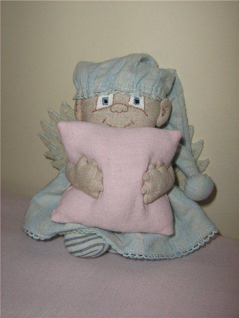 Muñeco Ángel dulces sueños