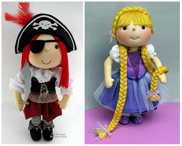 Patrón para varios muñecos diferentes
