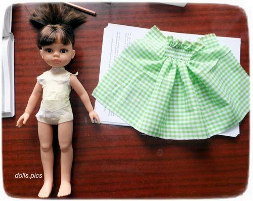 Cómo sacar un patrón para vestido de muñeca