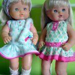 Vestido para la muñeca Nenuco con patrón