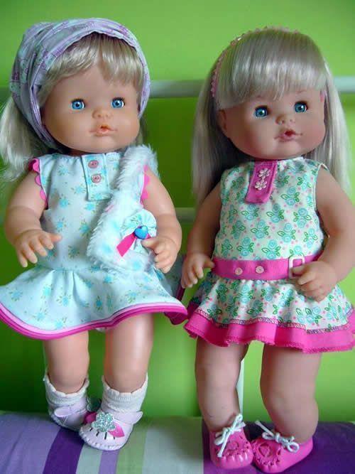 Vestido para la muñeca Nenuco