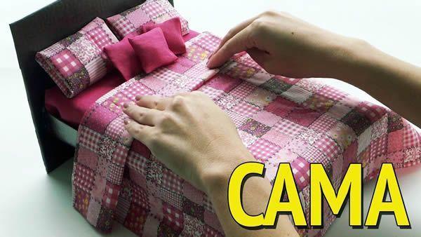 DIY Cama para Barbie
