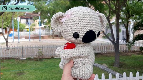 Muñeco amigurumi Koala
