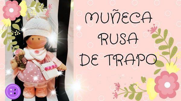 Muñeca de trapo Rusa con patrones