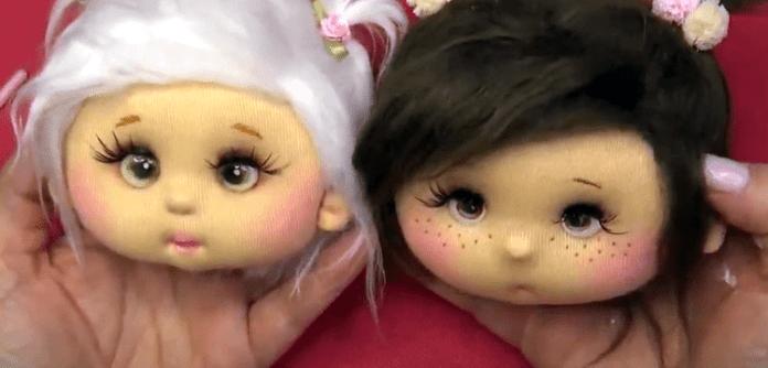 Lindos ojitos para muñecas tutorial
