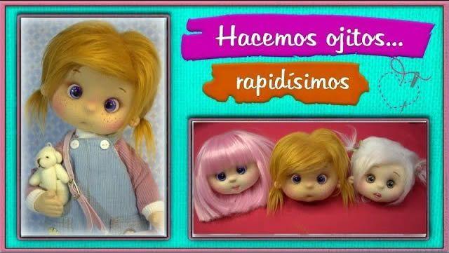 DIY Ojos de muñeca rápidos y fáciles