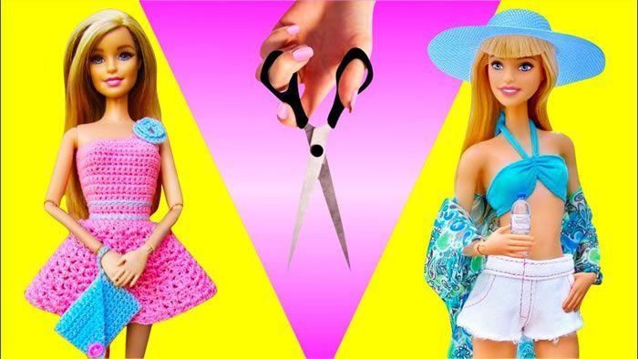 Ideas de ropa y objetos para la muñeca Barbie
