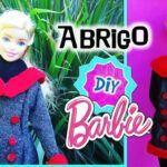 DIY Abrigo para Barbie sin coser paso a paso