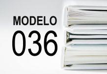 rellenar modelo 036
