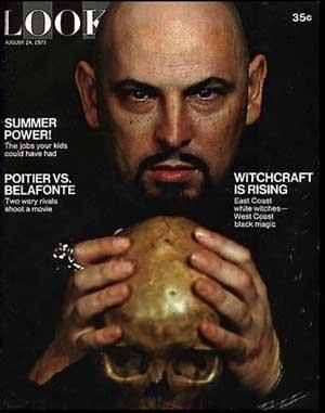 """Anton LaVey Anton LaVey, el """"Papa Negro"""" del Satanismo"""