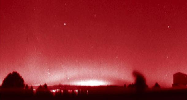 Misteriosos Arcos Rojos sobre los cielos de Europa Misteriosos Arcos Rojos sobre los cielos de Europa