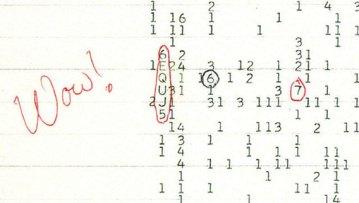La senal Wow Los inicios de la comunicación extraterrestre