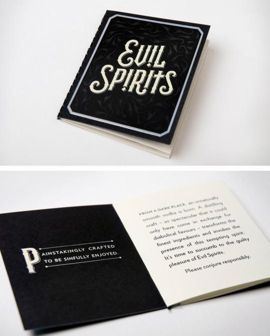 Evil Spirits Vodka 3 - Evil Spirits Vodka, une combinaison parfaite d'alcool et de Ouija pour attirer le mal