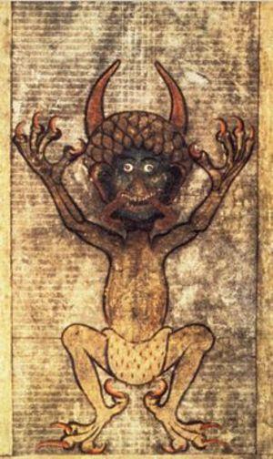Resultado de imagen para diablo del codex gigas