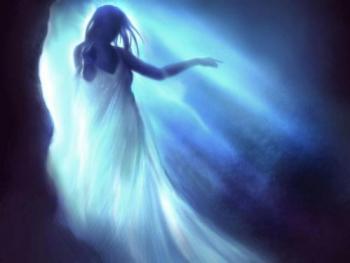 visiones fantasmales Visiones fantasmales en el momento de la muerte