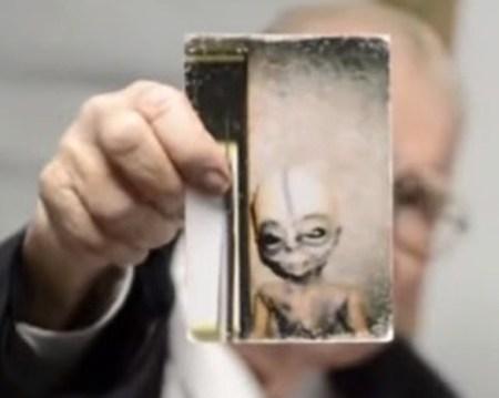Científico extraterrestres
