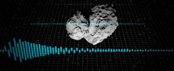 La misteriosa melodía del cometa 67P, ¿un mensaje de origen extraterrestre?
