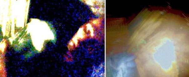 Mujer fotografía un extraño humanoide durante una abducción extraterrestre