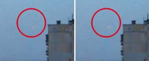 OVNI triangular aparece sobre la ciudad natal de Vladímir Putin