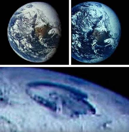 NASA entradas interior Tierra