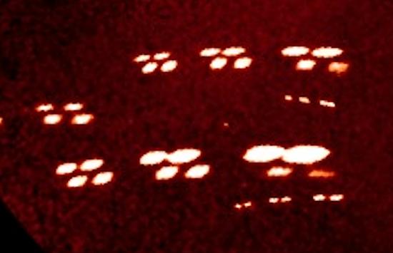 Naves extraterrestres cerca del Sol