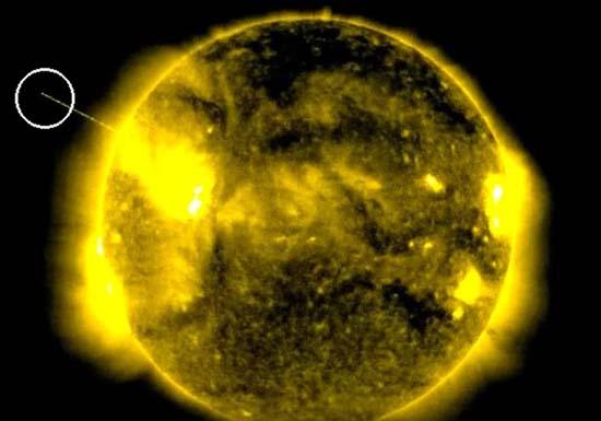 Ovni absorbiendo la energía del Sol