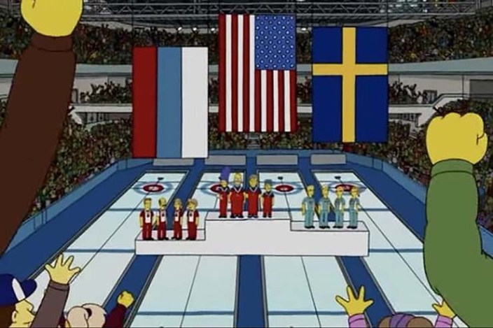 Simpsons predict the United States Olympic