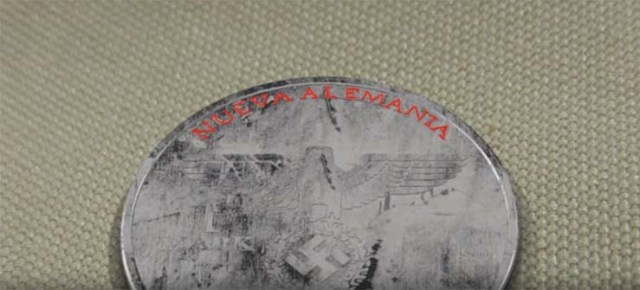 Nazi coin of year 2039 - Found in Mexico a Nazi coin of the year 2039, a test of time travel or a parallel universe?