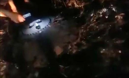 ovni en kazajstan - Cientos de personas ven cómo se estrella un enorme OVNI en Kazajstán
