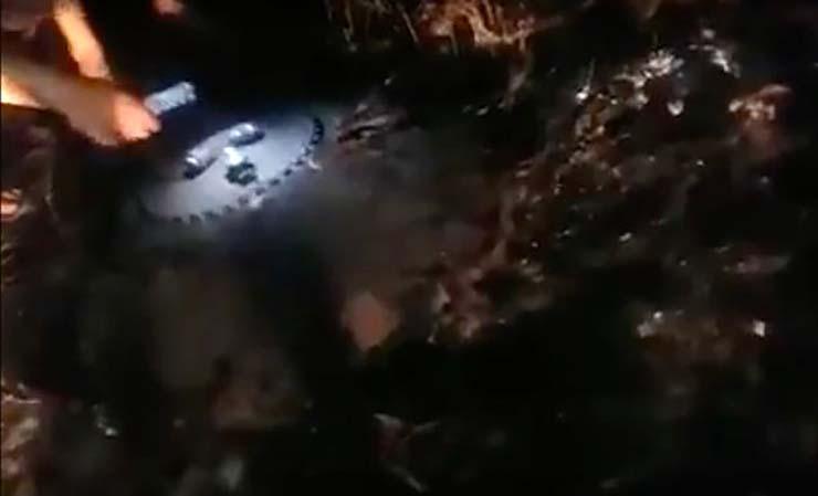 UFO crashes in Kazakhstan