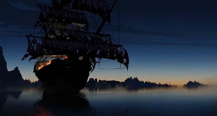 Flying Dutch legend - La légende du Flying Dutchman, rencontre avec le navire fantôme le plus célèbre de tous les temps