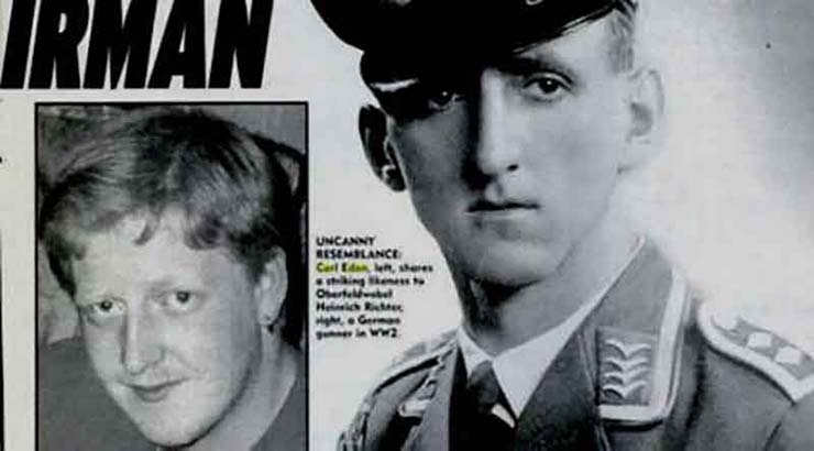 la réincarnation de carl edon - La réincarnation de Carl Edon: l'incroyable cas du garçon de cinq ans qui a prétendu être pilote nazi dans une vie passée
