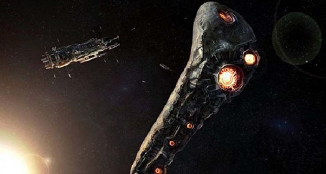 oumuamua extraterrestrial probe - Scientists from Harvard University confirm that the asteroid Oumuamua is an extraterrestrial space probe