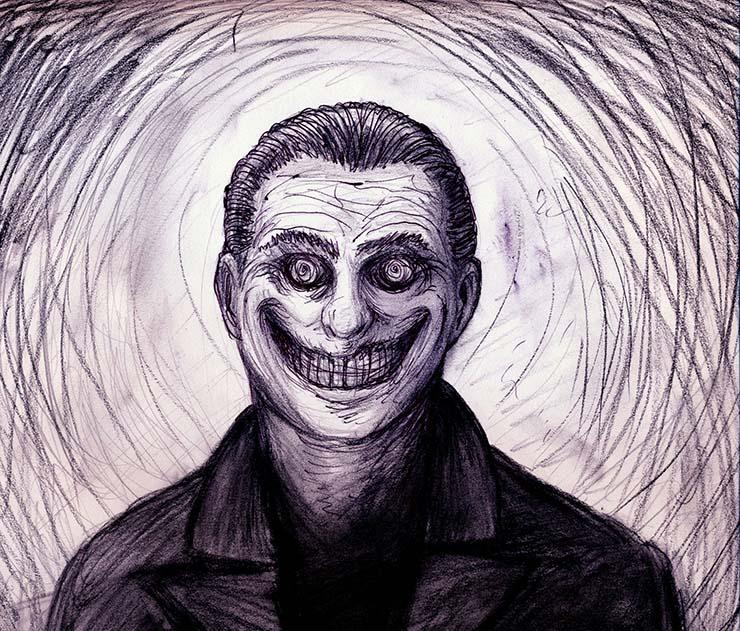Rencontres d'homme souriant - Rencontres terrifiantes avec `` l'homme souriant ''