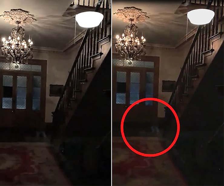 Enfants aux pieds fantomatiques - Un couple enregistre les pieds fantomatiques de trois enfants dans une plantation hantée aux États-Unis