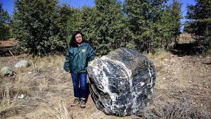 giant rock mysteriously disappears arizona - A giant rock mysteriously disappears and reappears in Arizona Wizard Rock
