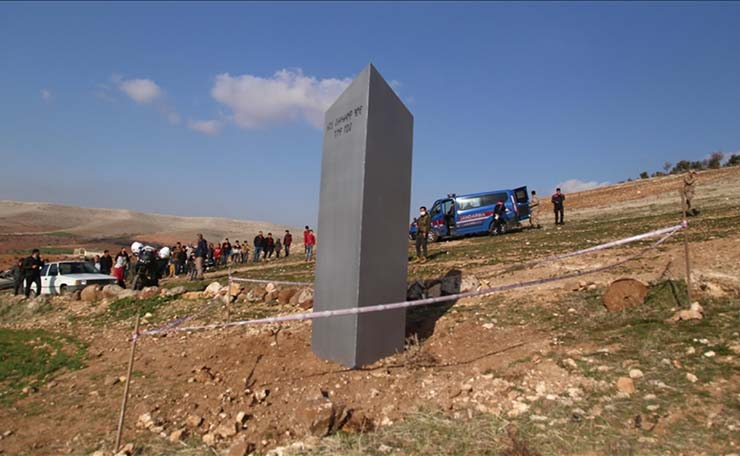 Turquie monolithe - Un nouveau monolithe mystérieux apparaît dans un ancien temple sacré en Turquie