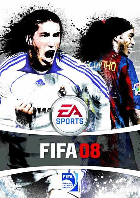 Portada española de FIFA 08