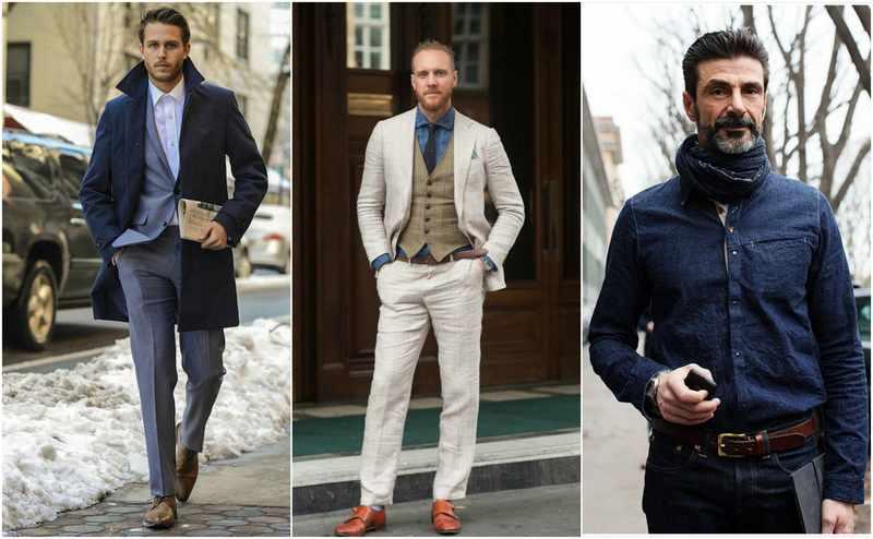 Ropa elegante hombres cuarentones
