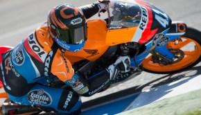 Alex Rins durante entrenamiento Jerez