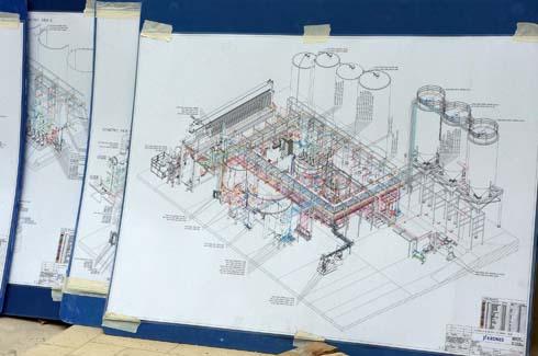 planos de fábrica