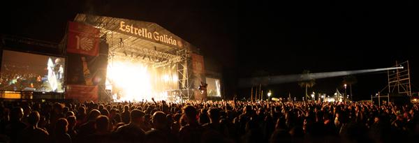 Escenario Estrella Galicia